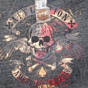 Affliction Shirts - New Affliction Men's Graphic T-Shirt Size XL